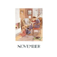 Carte Postale Novembre