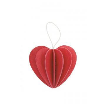 Coeur rouge - grand modèle