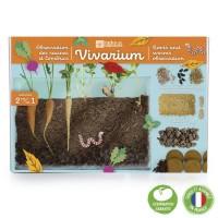 Vivarium Radis et capucine
