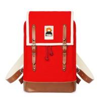 Ykra Matra Mini rouge cuir