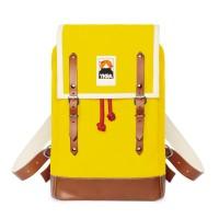 Ykra Matra mini cuir jaune