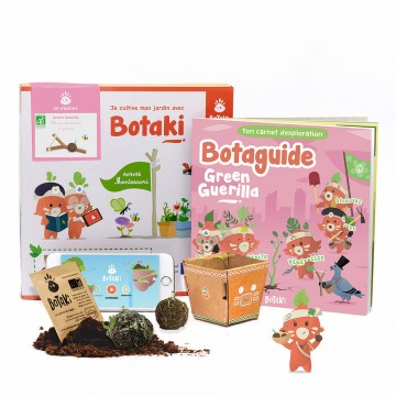 """Kit """"Green Guerilla"""" Botaki"""