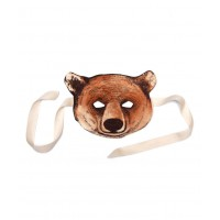 Masque d'ours en feutrine
