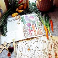"""Puzzle """"légumes racines"""""""
