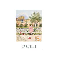 Carte postale Juillet