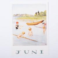 Carte postale juin