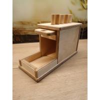 Chute de cylindres - matériel Montessori Nido