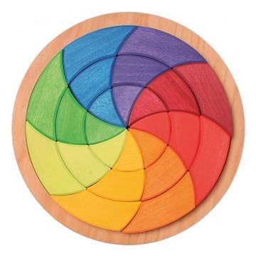 Grand cercle coloré de Goethe