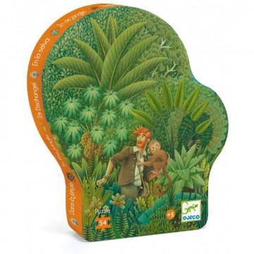 """Puzzle """"Dans la Jungle"""" - 54 pièces"""