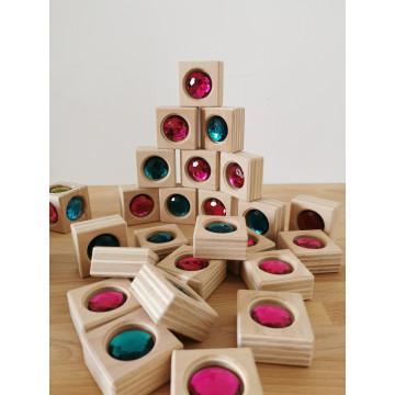 Cubes et pavés à joyaux