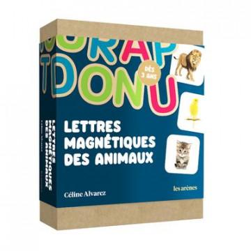 Lettres magnétiques des animaux - Céline Alvarez