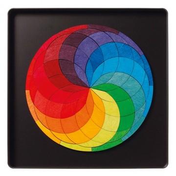 """Puzzle magnétique """"Spirale colorée"""""""