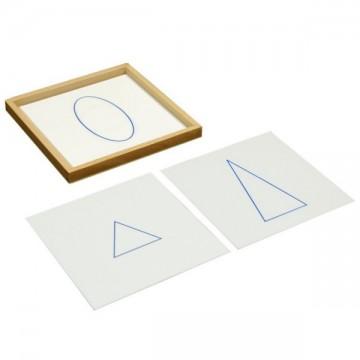 Cartes pour les solides de géométrie