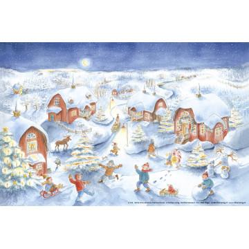 """Grand calendrier de l'Avent """" Noël"""""""