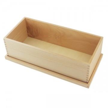Boîte de rangement des solides de géométrie