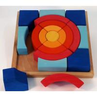 Bauspiel Puzzles Circles