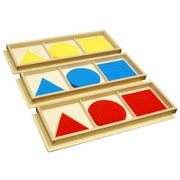 Triangles, disques, carrés