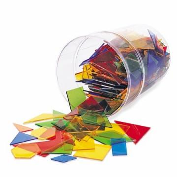 450 formes géométriques colorées