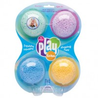 Play foam - 4 couleurs vives