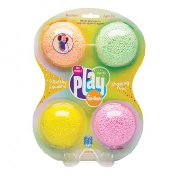 Play foam - 4 couleurs vives avec paillettes