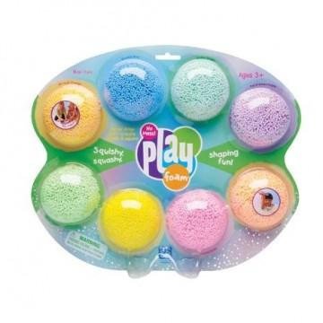 Play foam - 8 couleurs vives avec et sans paillettes