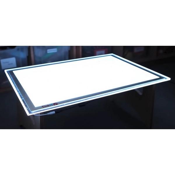 panneau lumineux led a2 20 couleurs. Black Bedroom Furniture Sets. Home Design Ideas