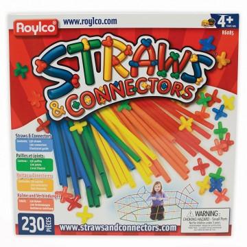 """Jeu de construction """"straws and connectors"""""""