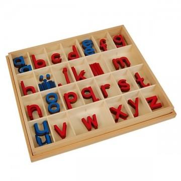 Petit alphabet mobile script bois