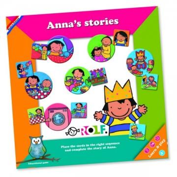 Images séquentielles-les histoires d'Anna