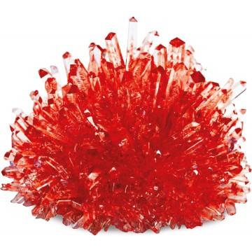 Crée ton cristal ! Couleur rouge