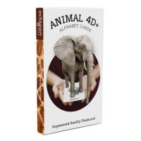 Animal 4D+ Food Cards