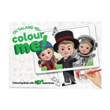 "Cartes ""Colour me"" 4D+"