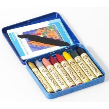 8 crayons de cire Stockmar : couleurs complémentaires 2