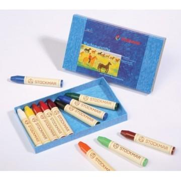 12 crayons de cire Stockmar