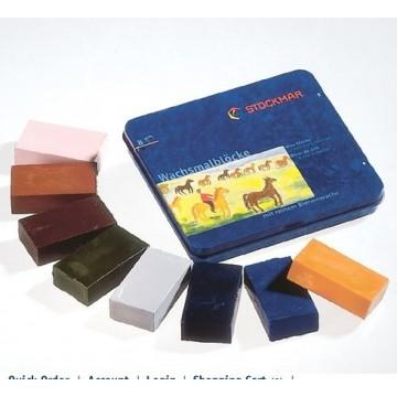 8 blocs de cire Stockmar-couleurs complémentaires