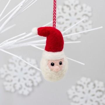 Kit de feutrage : Père Noël