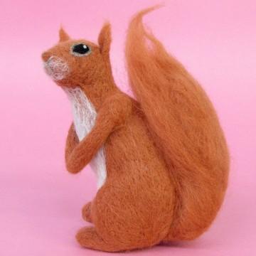 Kit de feutrage : écureuil