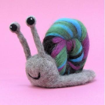 Kit de feutrage : escargot