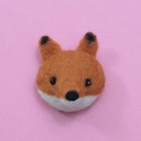 Kit de feutrage : broche renard