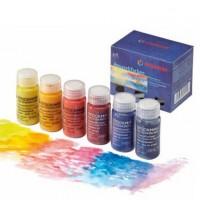 Peinture aquarelle Stockmar 6 couleurs de base