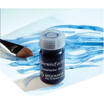 Aquarelle Stockmar 3 couleurs primaires 50 ml