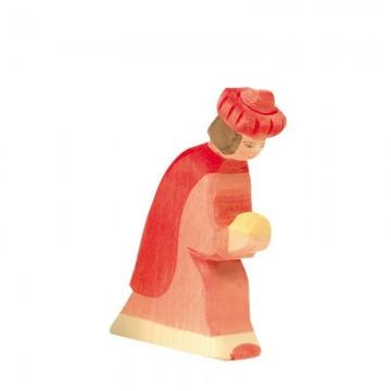 Roi mage-habits rouges