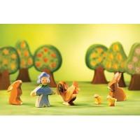 Kit de Pâques avec diorama-7 pièces