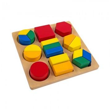 Encastrements géométriques fractionnés