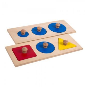 Encastrements 6 formes géométriques