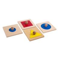 Encastrements 4 formes géométriques