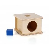 Boîte à formes avec cube