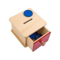 Boîte à formes avec pièces