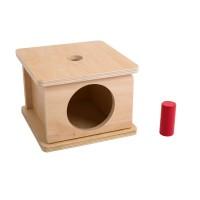 Boîte à formes avec petit cylindre