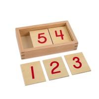 Cartes des chiffres 1 à 10